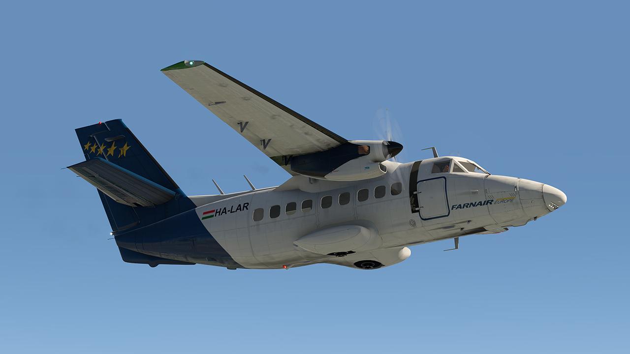 Let L-410 - frissítés X-Plane 11-re